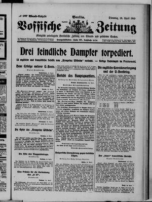 Vossische Zeitung on Apr 13, 1915