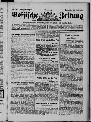 Vossische Zeitung vom 15.04.1915