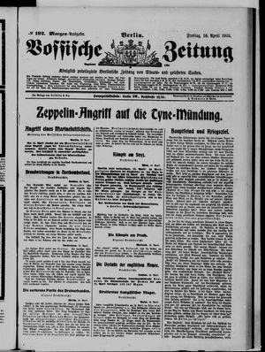 Vossische Zeitung vom 16.04.1915