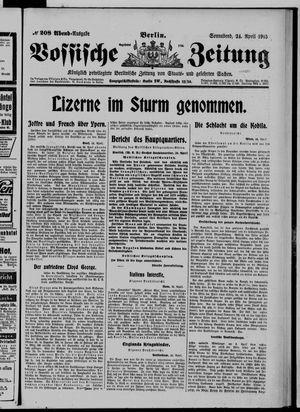 Vossische Zeitung vom 24.04.1915