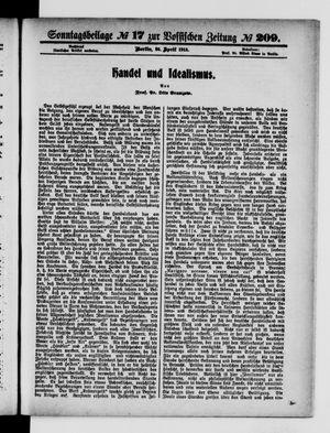 Vossische Zeitung vom 25.04.1915