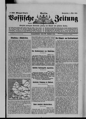 Vossische Zeitung vom 01.05.1915