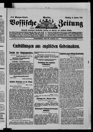 Vossische Zeitung on Jan 2, 1916
