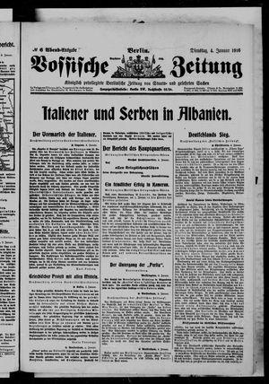 Vossische Zeitung vom 04.01.1916