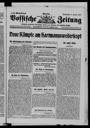 Vossische Zeitung vom 08.01.1916