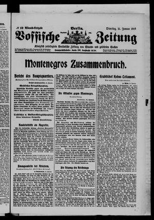 Vossische Zeitung vom 11.01.1916