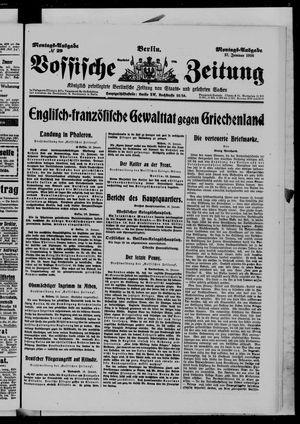 Vossische Zeitung on Jan 17, 1916