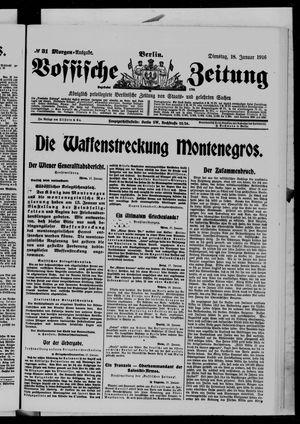 Vossische Zeitung vom 18.01.1916