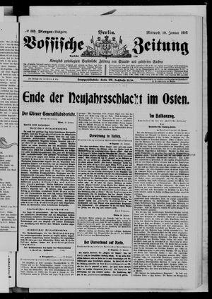Vossische Zeitung vom 19.01.1916