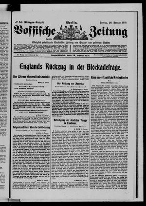 Vossische Zeitung vom 28.01.1916