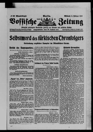 Vossische Zeitung vom 02.02.1916