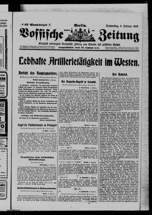 Vossische Zeitung vom 03.02.1916