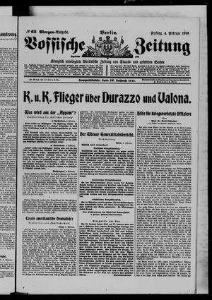 Vossische Zeitung vom 04.02.1916