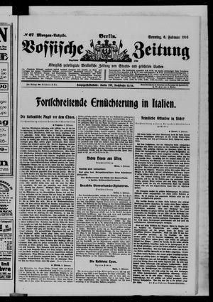 Vossische Zeitung vom 06.02.1916
