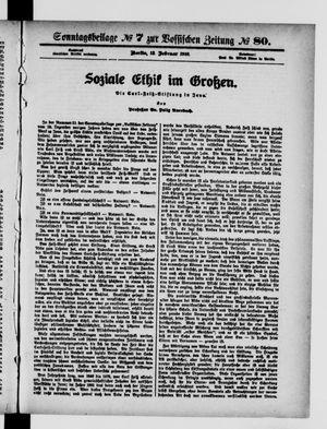 Vossische Zeitung vom 13.02.1916
