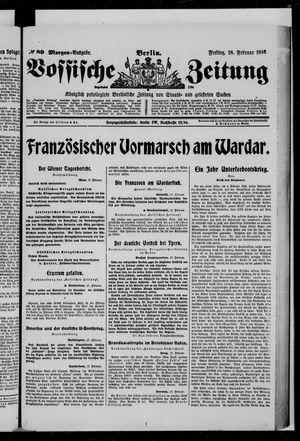 Vossische Zeitung vom 18.02.1916