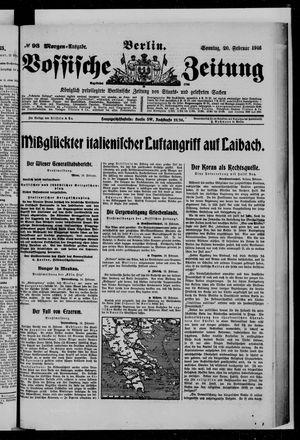 Vossische Zeitung vom 20.02.1916