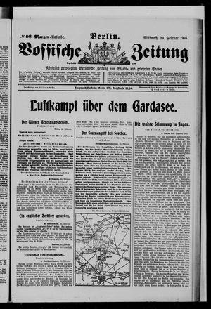 Vossische Zeitung on Feb 23, 1916