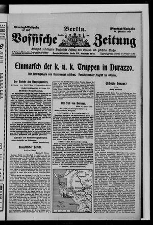 Vossische Zeitung vom 28.02.1916