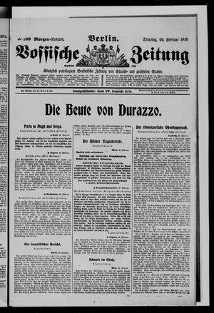 Vossische Zeitung vom 29.02.1916