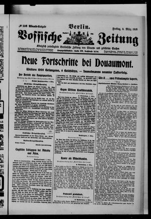Vossische Zeitung vom 03.03.1916