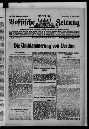 Vossische Zeitung vom 09.03.1916