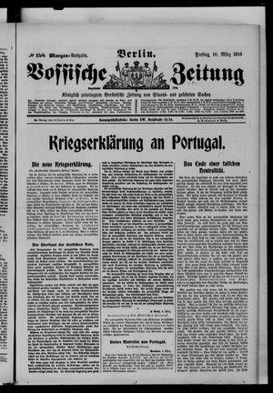 Vossische Zeitung vom 10.03.1916