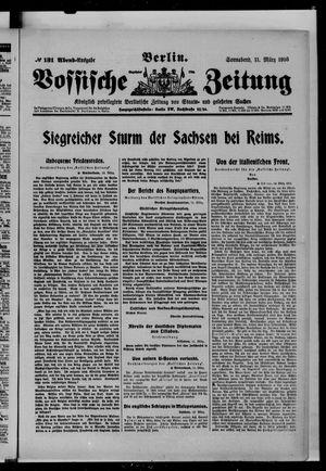 Vossische Zeitung vom 11.03.1916