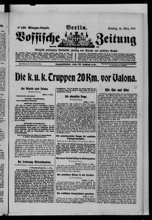 Vossische Zeitung vom 12.03.1916
