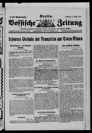 Vossische Zeitung vom 17.03.1916