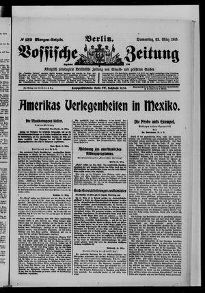 Vossische Zeitung vom 23.03.1916