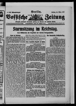 Vossische Zeitung vom 24.03.1916