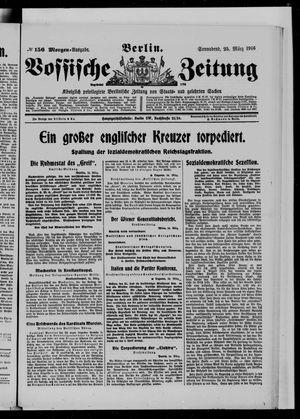 Vossische Zeitung on Mar 25, 1916