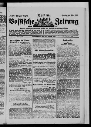 Vossische Zeitung vom 26.03.1916