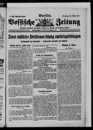 Vossische Zeitung vom 28.03.1916