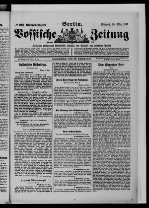 Vossische Zeitung vom 29.03.1916