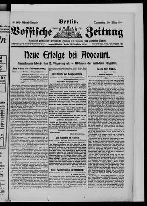 Vossische Zeitung vom 30.03.1916