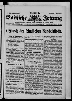 Vossische Zeitung vom 05.04.1916
