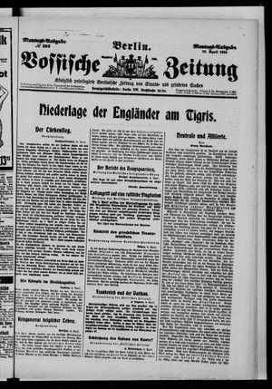 Vossische Zeitung vom 10.04.1916
