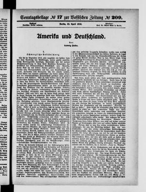 Vossische Zeitung vom 23.04.1916