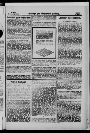 Vossische Zeitung vom 27.04.1916