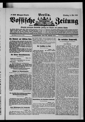Vossische Zeitung vom 02.05.1916
