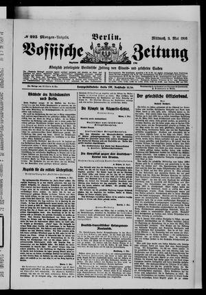 Vossische Zeitung vom 03.05.1916