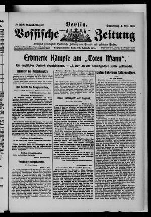 Vossische Zeitung vom 04.05.1916