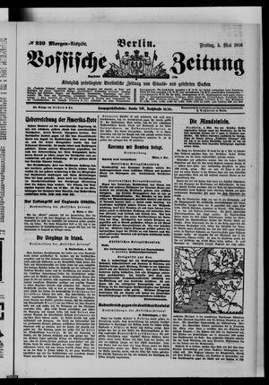 Vossische Zeitung vom 05.05.1916