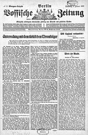 Vossische Zeitung vom 01.01.1918