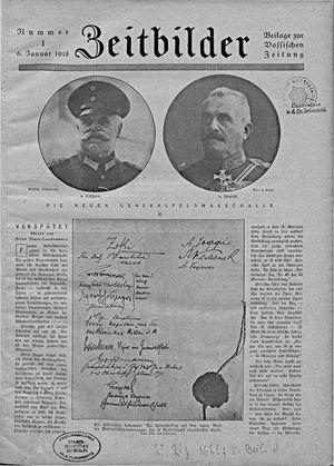 Vossische Zeitung vom 06.01.1918