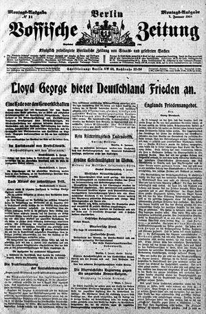 Vossische Zeitung vom 07.01.1918