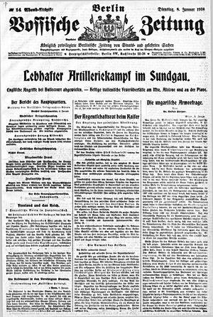 Vossische Zeitung vom 08.01.1918