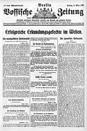Vossische Zeitung vom 08.03.1918